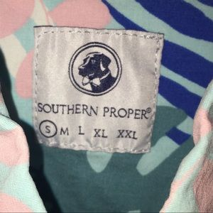 Southern Proper Shirts - Southern Proper Short Sleeve Button Down